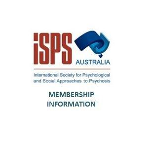 ISPS MEMBERSHIP INFORMATION